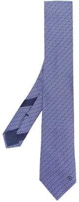 Salvatore Ferragamo interwoven pattern tie