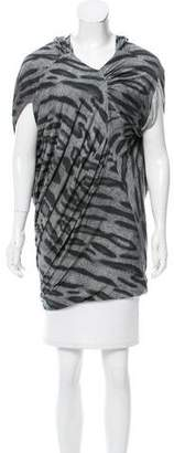 Yigal Azrouel Animal Print Oversize Tunic w/ Tags