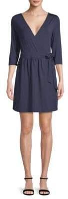 Tart Isabella Three Quarter-Length Sleeve Wrap Dress
