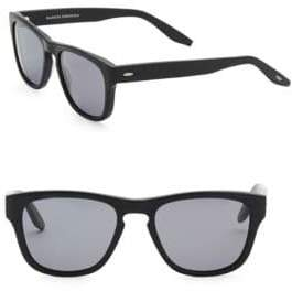 Barton Perreira Men's Bunker 54mm Square Sunglasses - Black