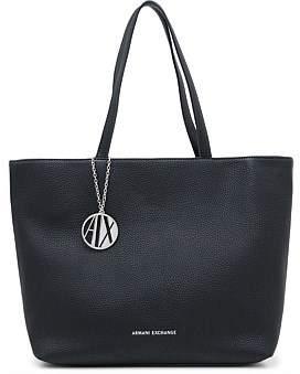 Armani Exchange Zip Top Tote Bag