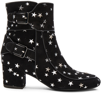 Laurence Dacade Suede Babacar Booties $940 thestylecure.com