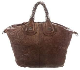 Givenchy Leather Embellished Hobo Brown Leather Embellished Hobo