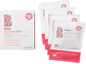 Briogeo Don't Despair, Repair! Deep Conditioning Hair Cap System 4 Pack.