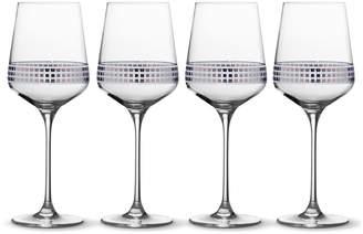 Mikasa Set of 4 Red Wine Glasses
