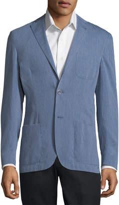 Corneliani Denim Suit Jacket