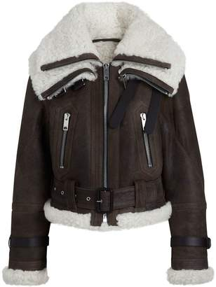 Burberry Reissued 2010 Shearling Aviator