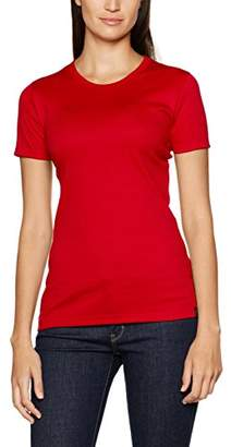 Trigema Women's Damen T-Shirt Baumwolle/Elastan (Weiß 001), 24