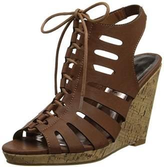 Madden-Girl Women's Margooo Wedge Sandal