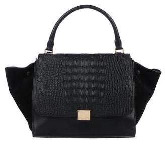 Celine Crocodile Medium Trapeze Bag