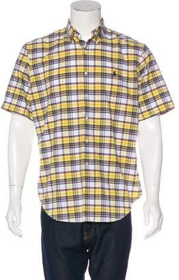 Ralph Lauren Plaid Short Sleeve Shirt