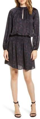 Velvet by Graham & Spencer Sonoma Shirred Waist Satin Dress