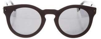 Fendi Mirrored Round Sunglasses w/ Tags