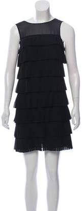 Ted Baker Pleated Tiered Dress