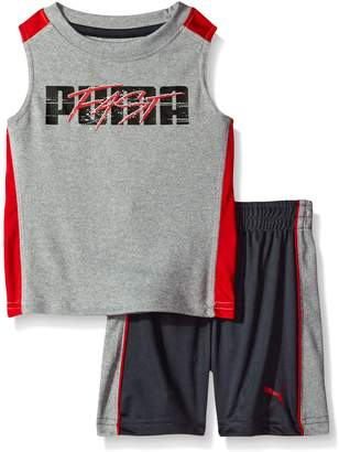 Puma Baby Boys' 2 Piece Short and Muscle Set
