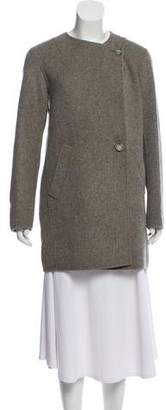 Theory Wool Knee-Length Coat