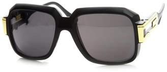 f582806a1b25 Zerouv Large Classic Retro Square Frame RUN DMC Hip-Hop Sunglasses