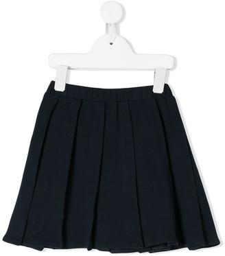 Il Gufo short pleated skirt