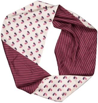 Louis Vuitton Purple Silk Scarves