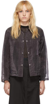 Our Legacy Grey Organza Square Jacket