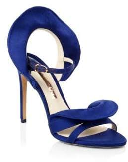 Sophia Webster Lucia Satin Sandals