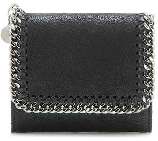 Stella McCartney Small Falabella Shaggy Deer Flap wallet