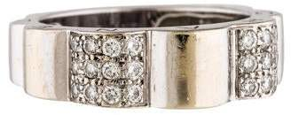 Chanel 18K Diamond Profil De Camellia Ring