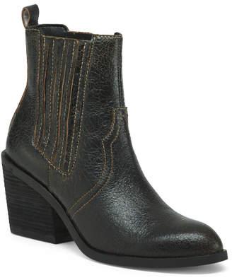 Donald J Pliner Vintage Leather Booties