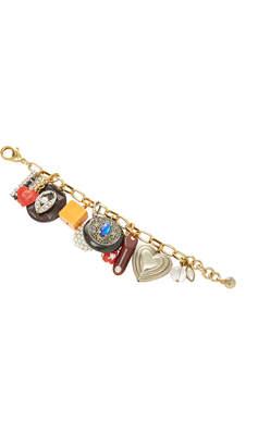Lulu Frost One-Of-A-Kind Crystal Tassel Bracelet