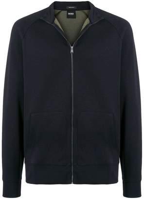 HUGO BOSS zipped sweater