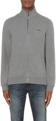 Michael Kors Funnel-neck stretch-cotton jacket