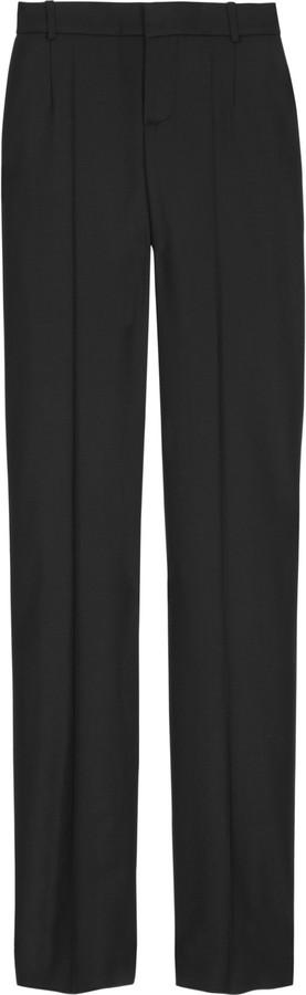 Chloé Twill straight-leg pants