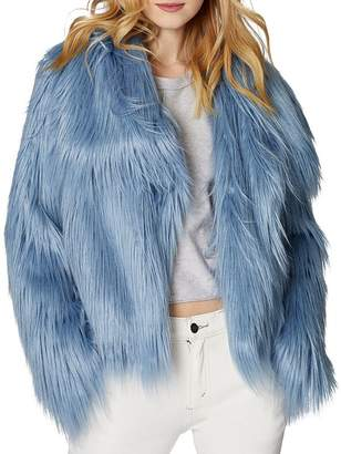 SAGE Collective Glacier Faux Fur Jacket