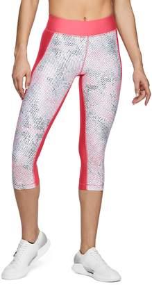 Under Armour Women's HeatGear Print Capri Leggings
