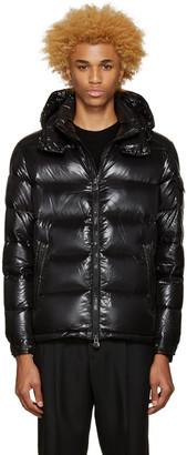 Moncler Black Down Maya Jacket $1,070 thestylecure.com