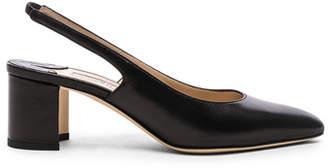 Manolo Blahnik Leather Allurasa 50 Heels
