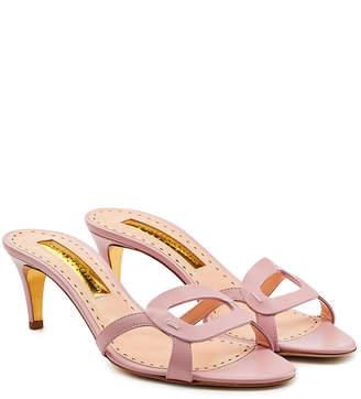 8fe2cea961562b Rupert Sanderson Leather Sole Sandals For Women - ShopStyle UK