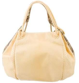 Nancy Gonzalez Python Hobo Bag