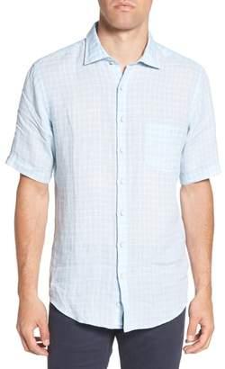 Rodd & Gunn Avonside Check Linen Sport Shirt