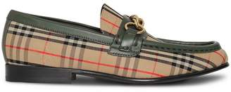 Burberry 1983 Check Link loafers