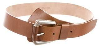 Michael Kors Leather Buckle Belt