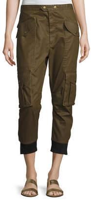 Etoile Isabel Marant Dexter Coated Cargo Pants