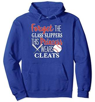 Softball Hoodie Forget the Glass Slippers Hoodie