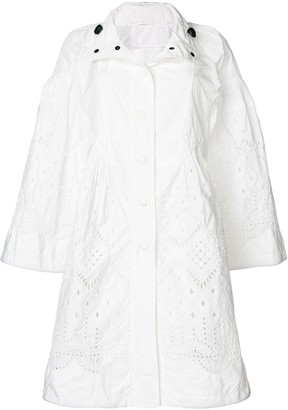 Ermanno Scervino open embroidery coat