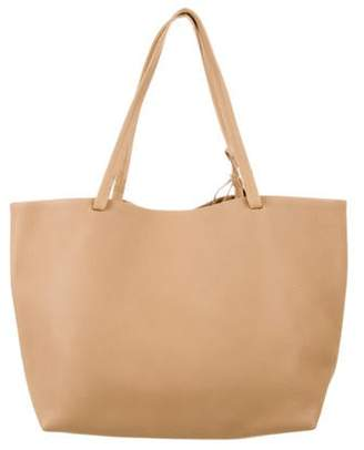 The Row Leather Park Tote Tan Leather Park Tote