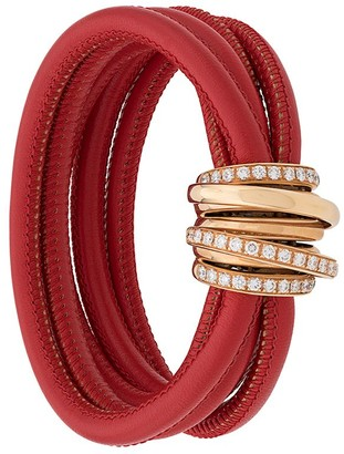 de Grisogono 18kt rose gold and diamond Allegra bracelet