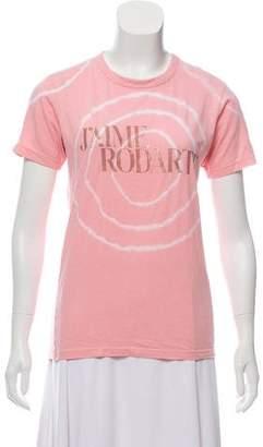 Rodarte Graphic Short Sleeve Top