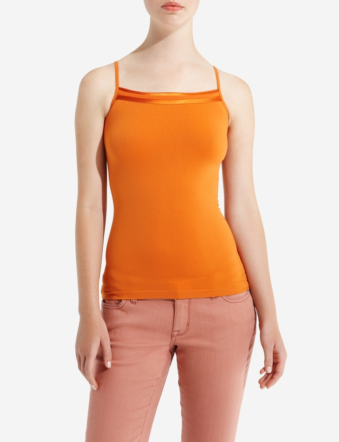 The Limited Woven-Trim Cami