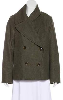 Nili Lotan Textured Button-Up Jacket