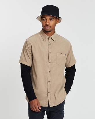 Rusty Strum Short Sleeve Corduroy Shirt